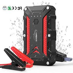 1200A Portable Waterproof Car Battery Jump Starter  12V IP68