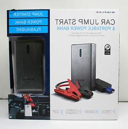 Winplus 1234 New Lithium Jump Starter Portable Power Bank wi