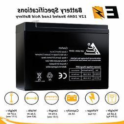 12V 10AH SLA Replacement Battery for Peak 750 Amp Jump-Start