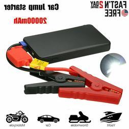 12V Car Jump Starter Booster 20000mAh Auto Jumper Battery US