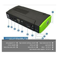 12V High Power 16000mah Mini Portable Jump Starter Box 4x4 T
