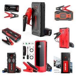 12V Peak Car Jump Starter Box Power Bank Battery Portable Mo