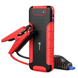 1300a peak 18000mah car jump starter up