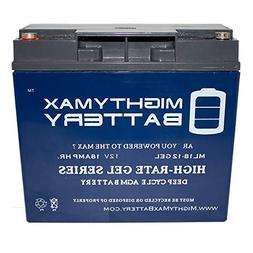 Mighty Max Battery 12V 18AH Gel Battery for Boosterpac ES500