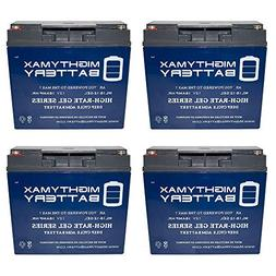 Mighty Max Battery 12V 18AH GEL Battery for Stanley Jump Sta