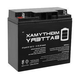 Mighty Max 12V 18AH SLA Battery for Stanley Jump Starter 450