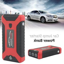 20000mAh Car Jump Starter Portable 4-USB Power Bank Battery