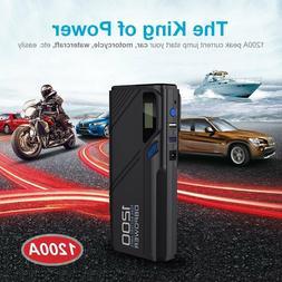 DBPOWER 2000A 1200A 800A 600A 500A Peak Portable Car Jump St