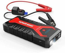 2 Pack DBPOWER 20800mAh Portable Car Jump Starter Auto Batte