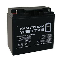 Mighty Max Battery 12V 22AH Replacement Battery for Die Hard