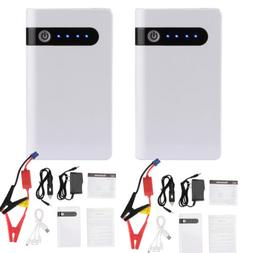 2x12V Portable 20000mAh Car Jump Starter Pack Booster Batter