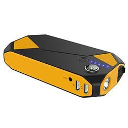 300A Peak 14000mAh Portable Car Jump Starter Power Bank, wit