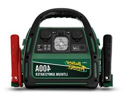 400 Amp Lithium Ion Jump Starter can Start Your Dead Battery