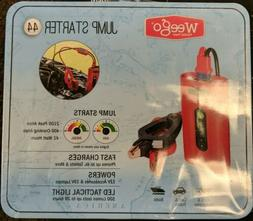 Weego 44 Jump Starter 41Wh Smarty Clamp N44 - New!!!