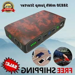 HALO 58830 mWh Jump Starter Portable Phone Laptop Car Charge
