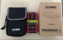 GOOLOO 600A Peak SuperSafe Car Jump Starter up to 5.0L gas e