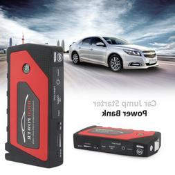 69800mAh Car Jump Starter Portable 4-USB Power Bank Battery