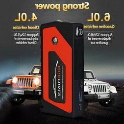 69800mAh Car Jump Starter Portable USB Power Bank Battery Bo