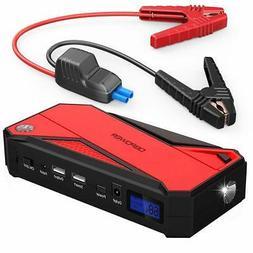 DBPOWER 800A Peak 18000mAh Portable Car Jump Starter (up to