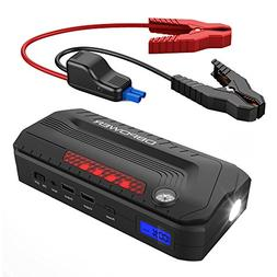 800a peak 18000mah portable car jump starter