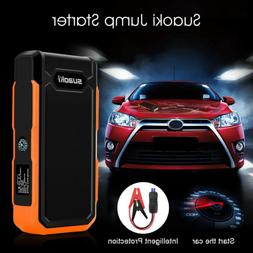 Suaoki 800A Peak Car Jump Starter 20000mAh Battery+ Smart Cl