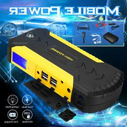 88000mAH Portable Car Jump Starter Power Bank Vehicle Batter