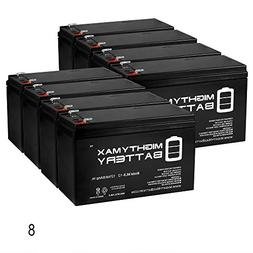 Mighty Max Battery 12V 8Ah Battery Replaces Stanley J6BS 300