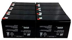 10 Pack Casil 12v 8ah for Surge 24V Scooter # 8801-29 Super