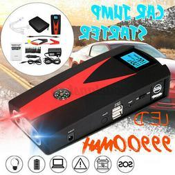 99900mAh 12V Car Jump Starter Booster 800A Peak USB Charger