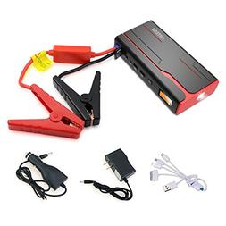 Arteck 600A Peak Car Jump Starter  Auto Battery Booster and
