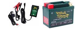 BTL09A120C Lithium 12V 120 CCA + Battery Tender Junior 800 0