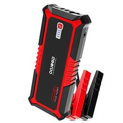 GOOLOO 1500A Peak SuperSafe Car Jump Starter Quick Charge 3.