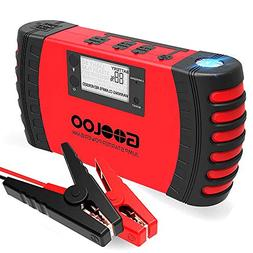GOOLOO SuperSafe Car Jump Starter, 800A Peak 18000mAh 12V Au