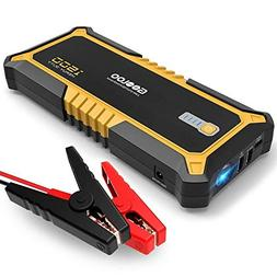 GOOLOO 1500A Peak SuperSafe Car Jump Starter Quick Charge 3