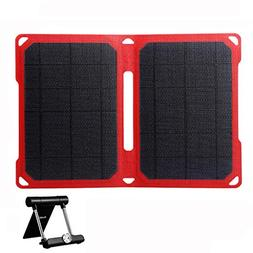 SUAOKI 14W Portable Solar Charger Foldable ETFE Solar Panel