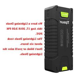 Tipsun 20000mAh 1000A Peak Car Jump Starter , Portable Phone