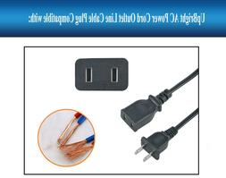AC IN Power Cord Charging Cable Charger Plug Lead For Jump S