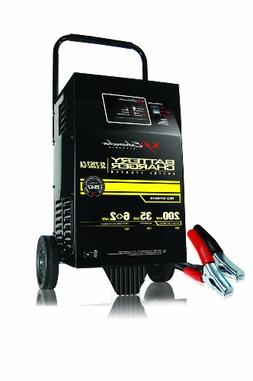 Schumacher  12V 200 Amp Automatic Wheel Battery Charger with