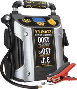 Battery Jump Starter Air Compressor Peak Portable Car Charge