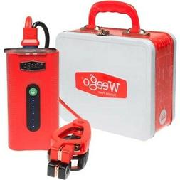 WEEGO POWER BATTERY PACK 400AMP W/DC & USB JUMP STARTER & CA