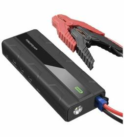 RavPower Car Battery Jump Starter 1000A Peak Current 14000mA