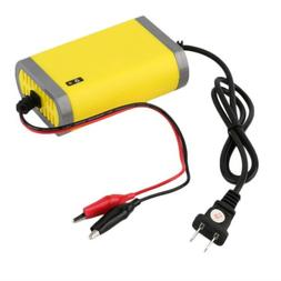 Car Battery Rechargeable Charger Portable Adapter Power Supp
