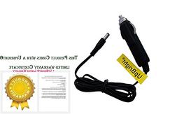 UpBright New Car DC Adapter for Halo Bolt 57720 58830 1201 H