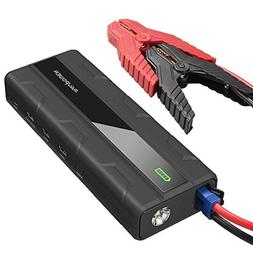 Car Jump Starter RAVPower 1000A Peak Current Quick Charge 3.