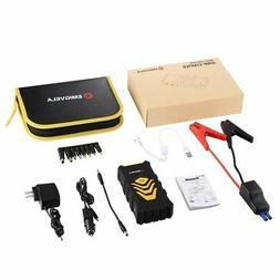 Car Jump Starter Kit 14000mAh Dual USB Power Bank Emergency