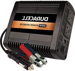 Duracell DRINV400 High Power Inverter 400 Watt Peak 320W Con