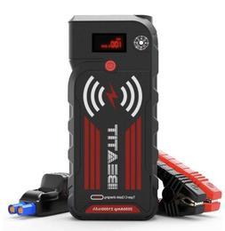 Beatit G18 2000Amp Peak 12V Portable Car Jump Starter (Up To