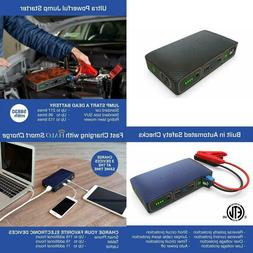 Halo Bolt 58830 Mwh Portable  Laptop Charger Car Jump Starte