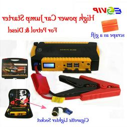 Jump Starter Booster Car Battery Emergency Car Starting and