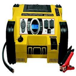 Jump Starter Inverter With Air Compressor Auto Battery Porta